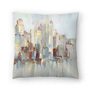 City Escape I by PI Creative Art Decorative Pillow