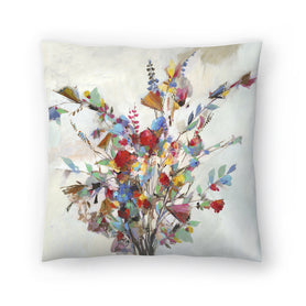 Spring Bouquet by PI Creative Art Decorative Pillow