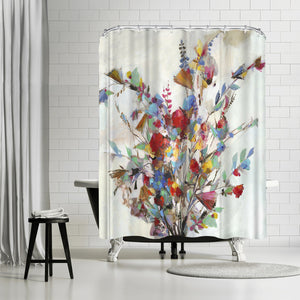 Spring Bouquet by PI Creative Art Shower Curtain