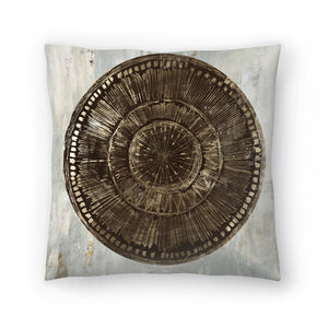 Zulu Gold I by PI Creative Art Decorative Pillow
