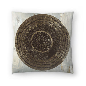 Zulu Gold Ii by PI Creative Art Decorative Pillow