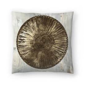 Zulu Gold Iii by PI Creative Art Decorative Pillow