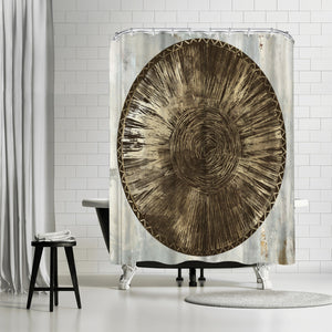 Zulu Gold Iii by PI Creative Art Shower Curtain