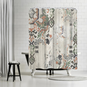 Oriental Rug I by PI Creative Art Shower Curtain