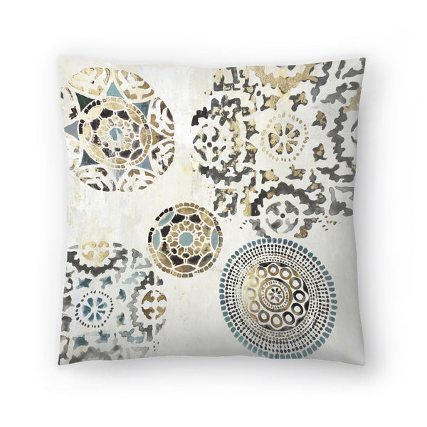 Rounded Ii by PI Creative Art Decorative Pillow