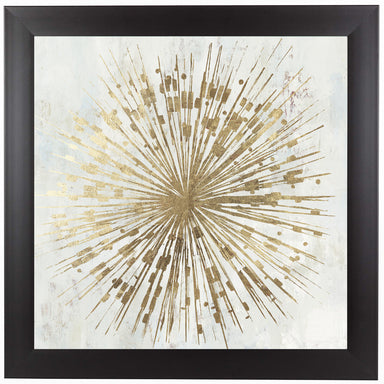Golden Star by PI Creative Art Framed Print - Americanflat