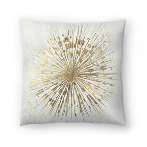 Golden Star by PI Creative Art Decorative Pillow