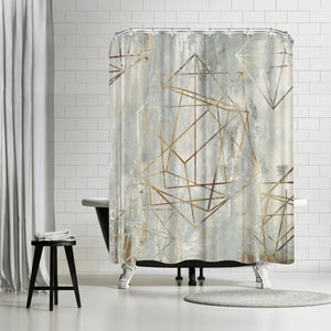 Elements by PI Creative Art Shower Curtain