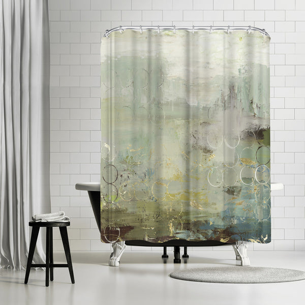Liability I by PI Creative Art Shower Curtain