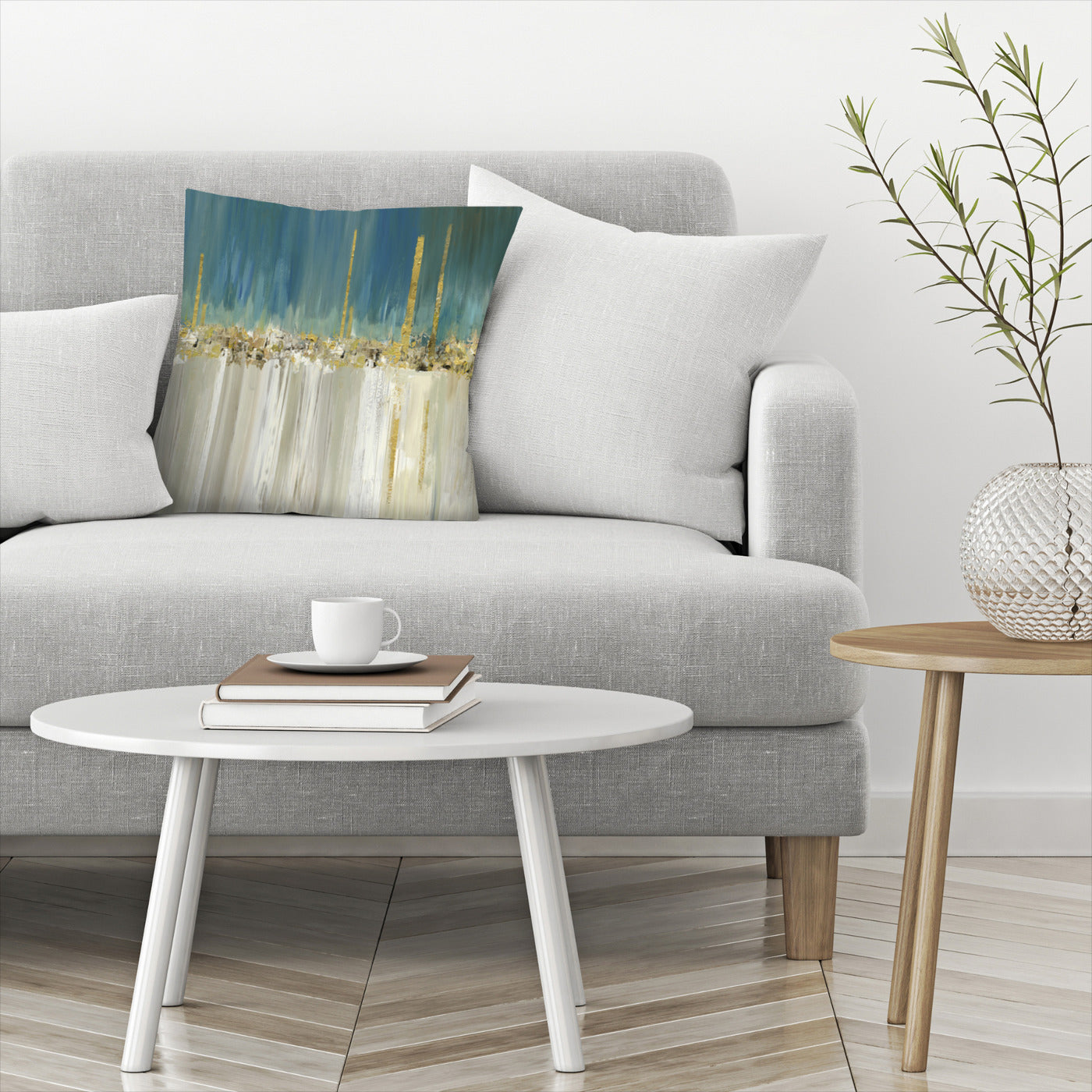 Shine A Light Ii by PI Creative Art Decorative Pillow - Decorative Pillow - Americanflat