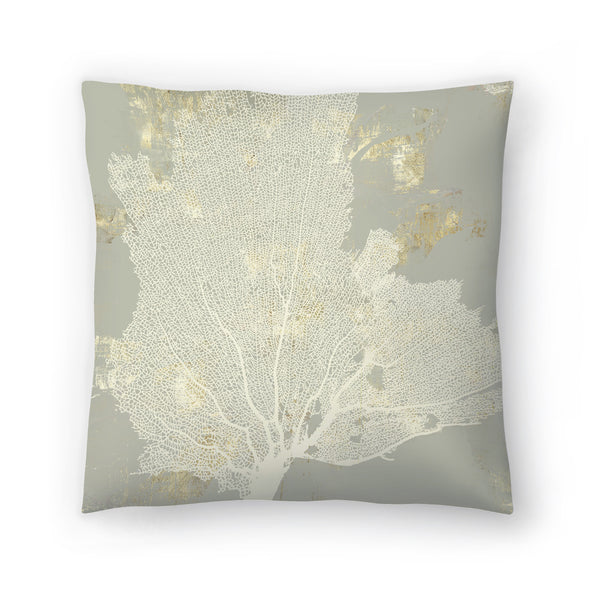 Sea Coral I by PI Creative Art Decorative Pillow