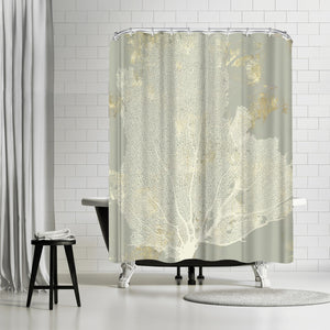 Sea Coral I by PI Creative Art Shower Curtain