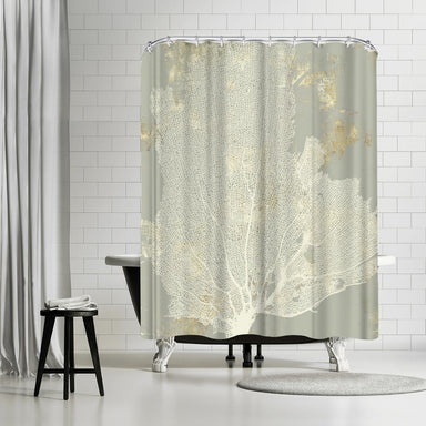 Sea Coral I by PI Creative Art Shower Curtain -  - Americanflat