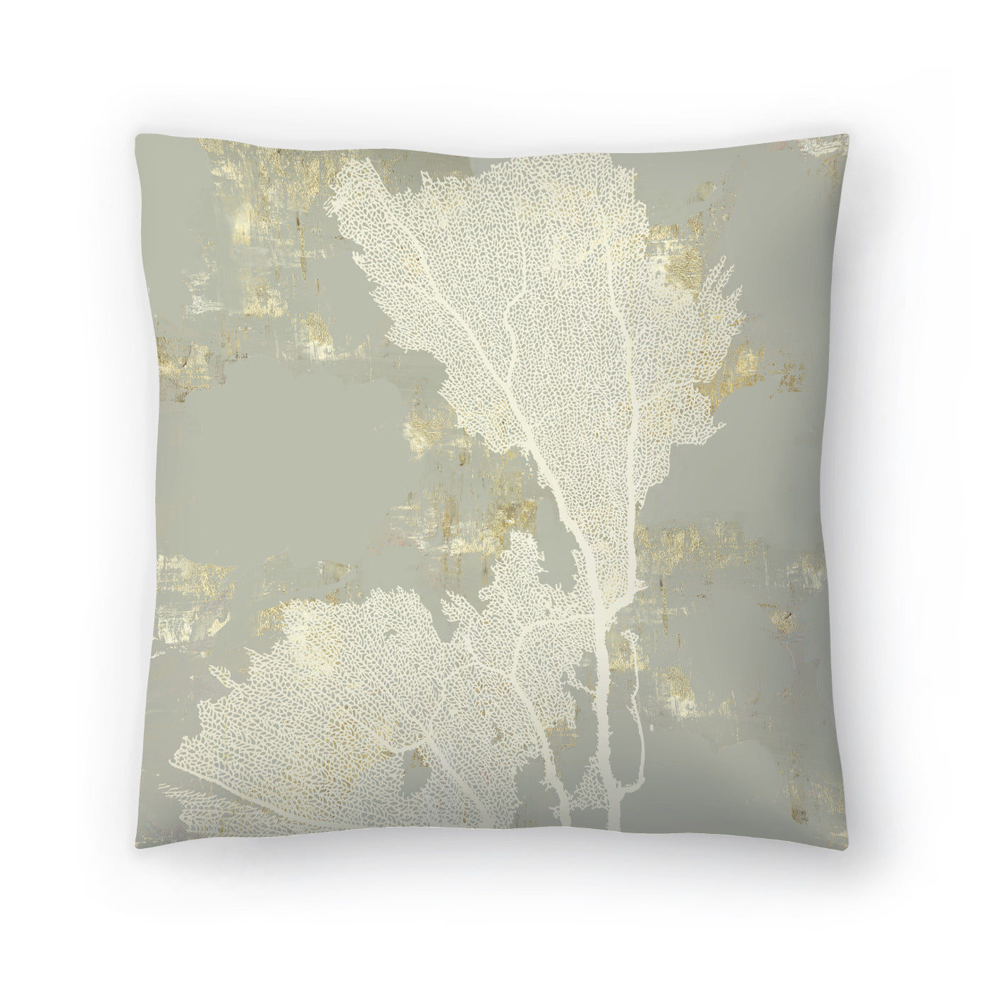 Sea Coral Ii by PI Creative Art Decorative Pillow - Decorative Pillow - Americanflat