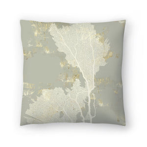 Sea Coral Ii by PI Creative Art Decorative Pillow