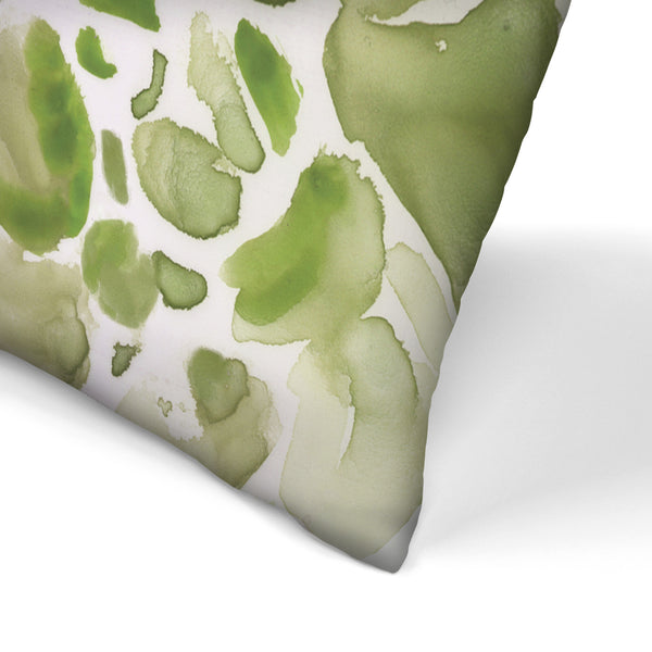 Water Succulents Ii by PI Creative Art Decorative Pillow