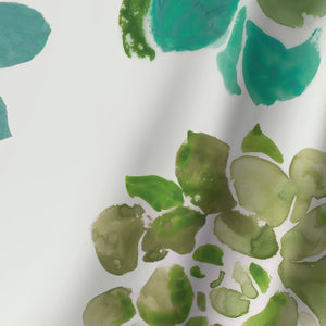 Water Succulents Ii by PI Creative Art Shower Curtain