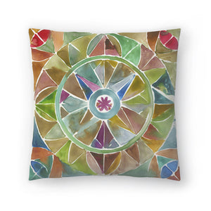 Tessellation I by PI Creative Art Decorative Pillow