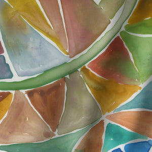 Tessellation I by PI Creative Art Shower Curtain