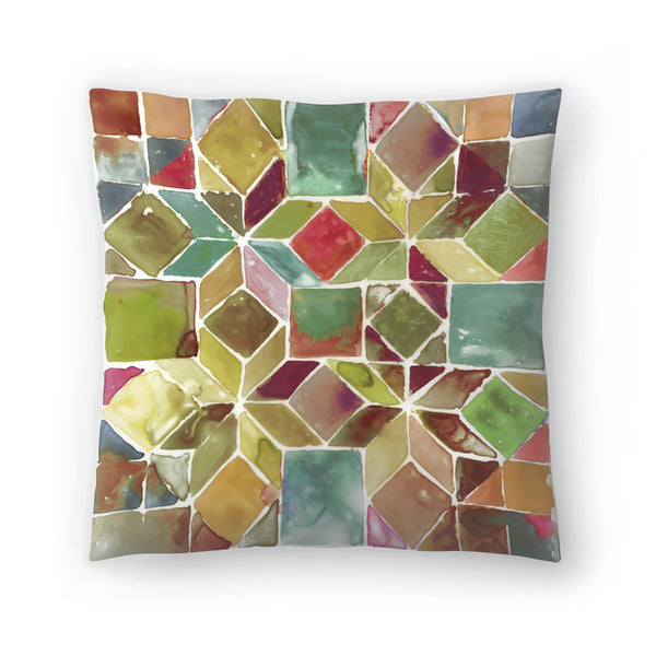 Tessellation Ii by PI Creative Art Decorative Pillow