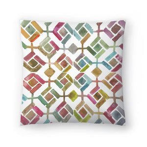 Tessellation Iii by PI Creative Art Decorative Pillow