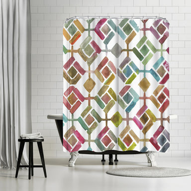 Tessellation Iii by PI Creative Art Shower Curtain -  - Americanflat