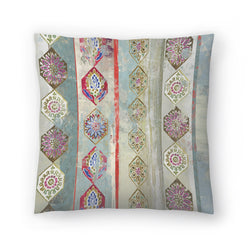 Painted Wood I by PI Creative Art Decorative Pillow
