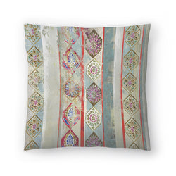 Painted Wood Ii by PI Creative Art Decorative Pillow