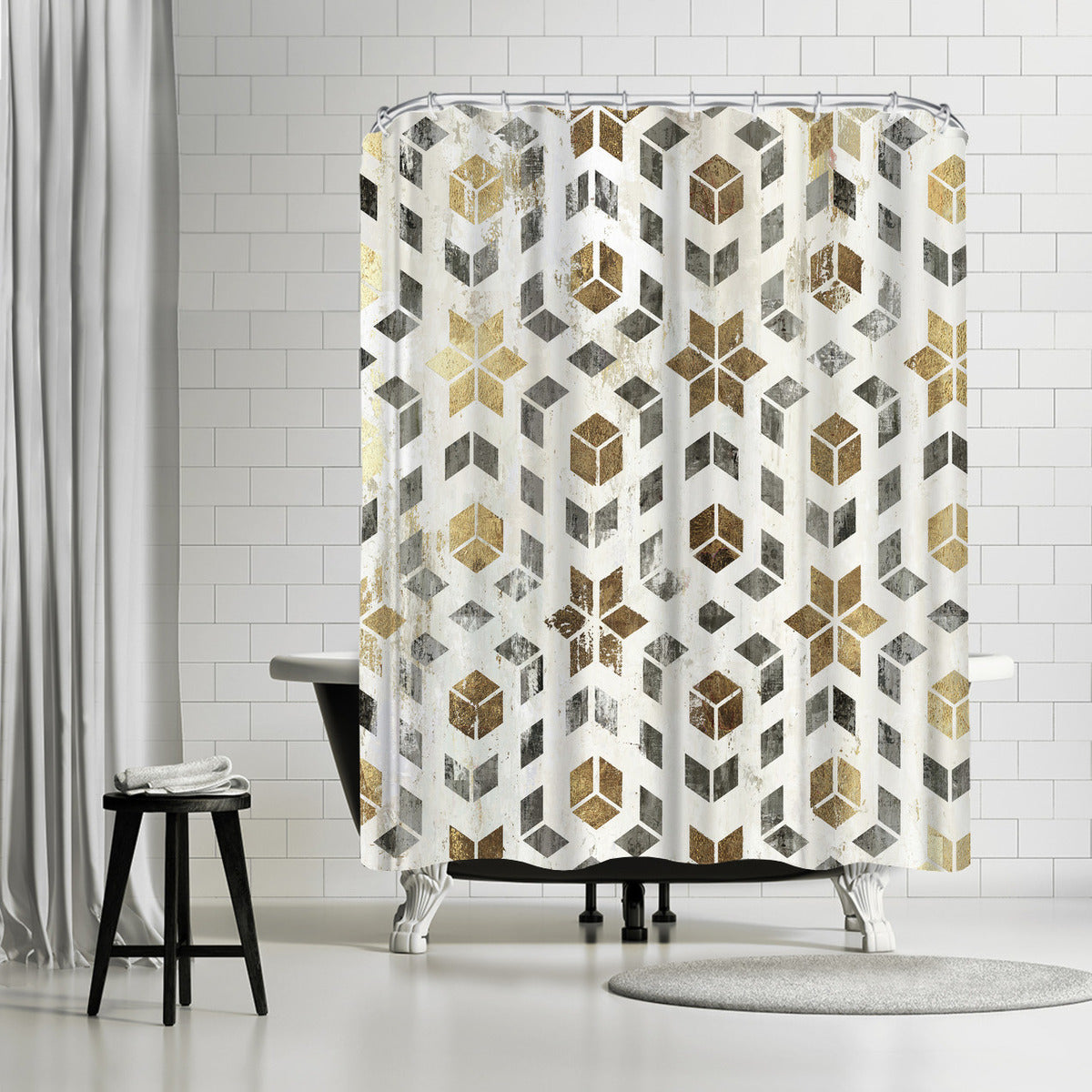 Gatsby by PI Creative Art Shower Curtain