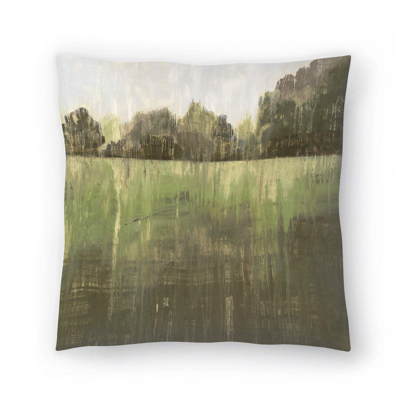 Green Field Ii by PI Creative Art Decorative Pillow - Decorative Pillow - Americanflat