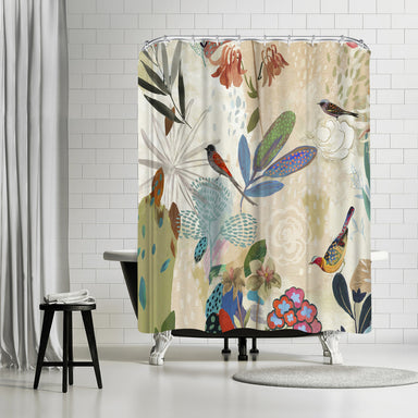 Where The Passion Flower Grows I by PI Creative - Shower Curtain - Americanflat