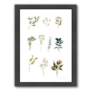 Delicate Botanica Pieces by Shealeen Louise Framed Print - Americanflat