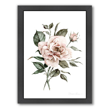 Faded Pink Rose by Shealeen Louise Framed Print - Americanflat