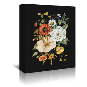 Wildflower Bouquet by Shealeen Louise Wrapped Canvas
