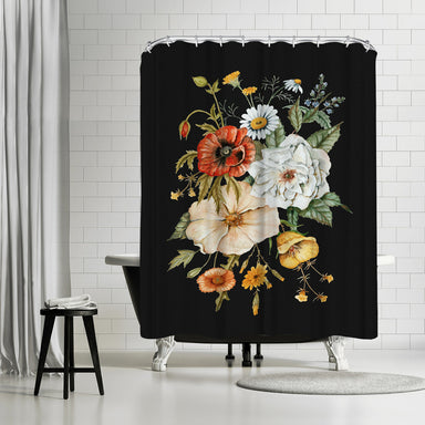Wildflower Bouquet by Shealeen Louise Shower Curtain -  - Americanflat