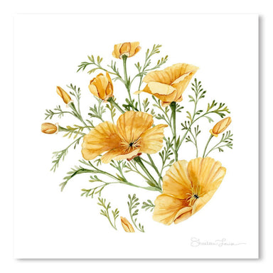 California Poppies by Shealeen Louise Art Print - Art Print - Americanflat