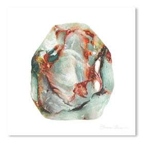 Jade Stone by Shealeen Louise Art Print