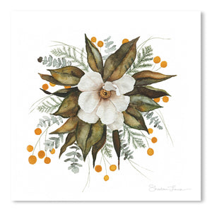 Magnolia Bouquet by Shealeen Louise Art Print
