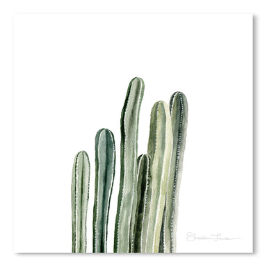 Tall Cacti by Shealeen Louise Art Print - Art Print - Americanflat