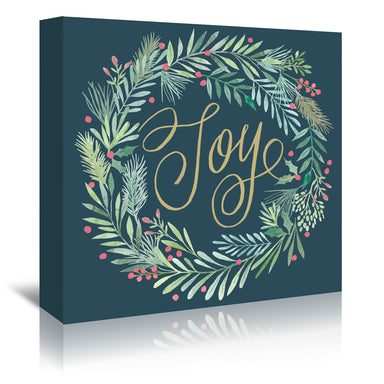 Joy By Kathryn Selbert - Wrapped Canvas - Wrapped Canvas - Americanflat
