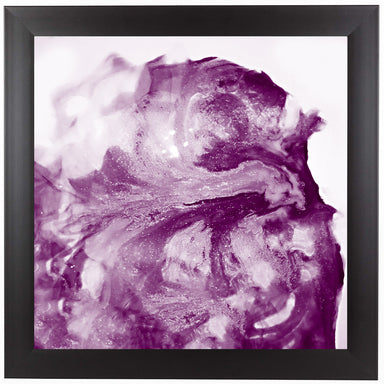 Grape Glitter by Ashley Camille Black Framed Print - Wall Art - Americanflat