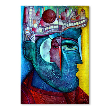 Man In Thoughts 2 by Van Hovak - Art Print - Americanflat