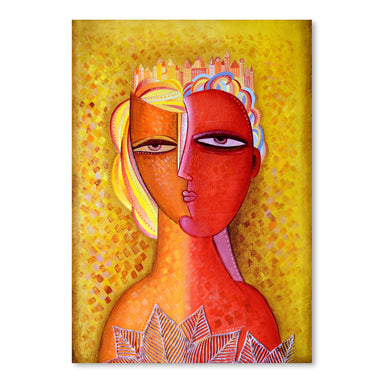 Woman In The City by Van Hovak - Art Print - Americanflat