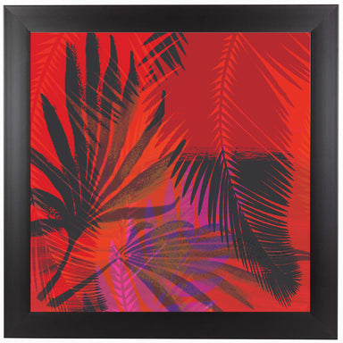 Flor Tropical 5 by Kristine Lombardi Black Framed Print - Wall Art - Americanflat