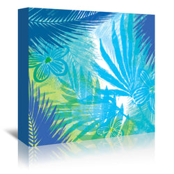 Flor Tropical 8 By Kristine Lombardi - Wrapped Canvas, Kristine Lombardi, Wrapped Canvas, 16