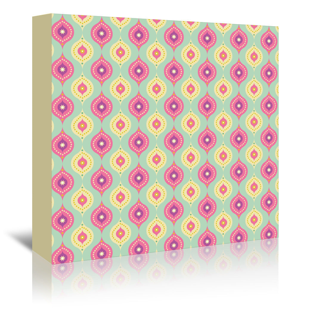Ogee By Frankie Van Mourik - Wrapped Canvas - Wrapped Canvas - Americanflat
