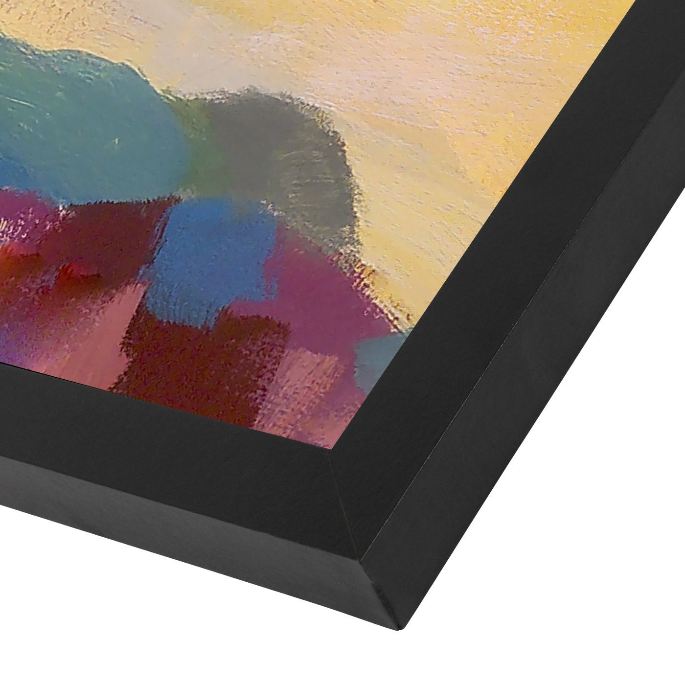 Abstract Landscape 7 By Hans Paus - Black Framed Print - Wall Art - Americanflat