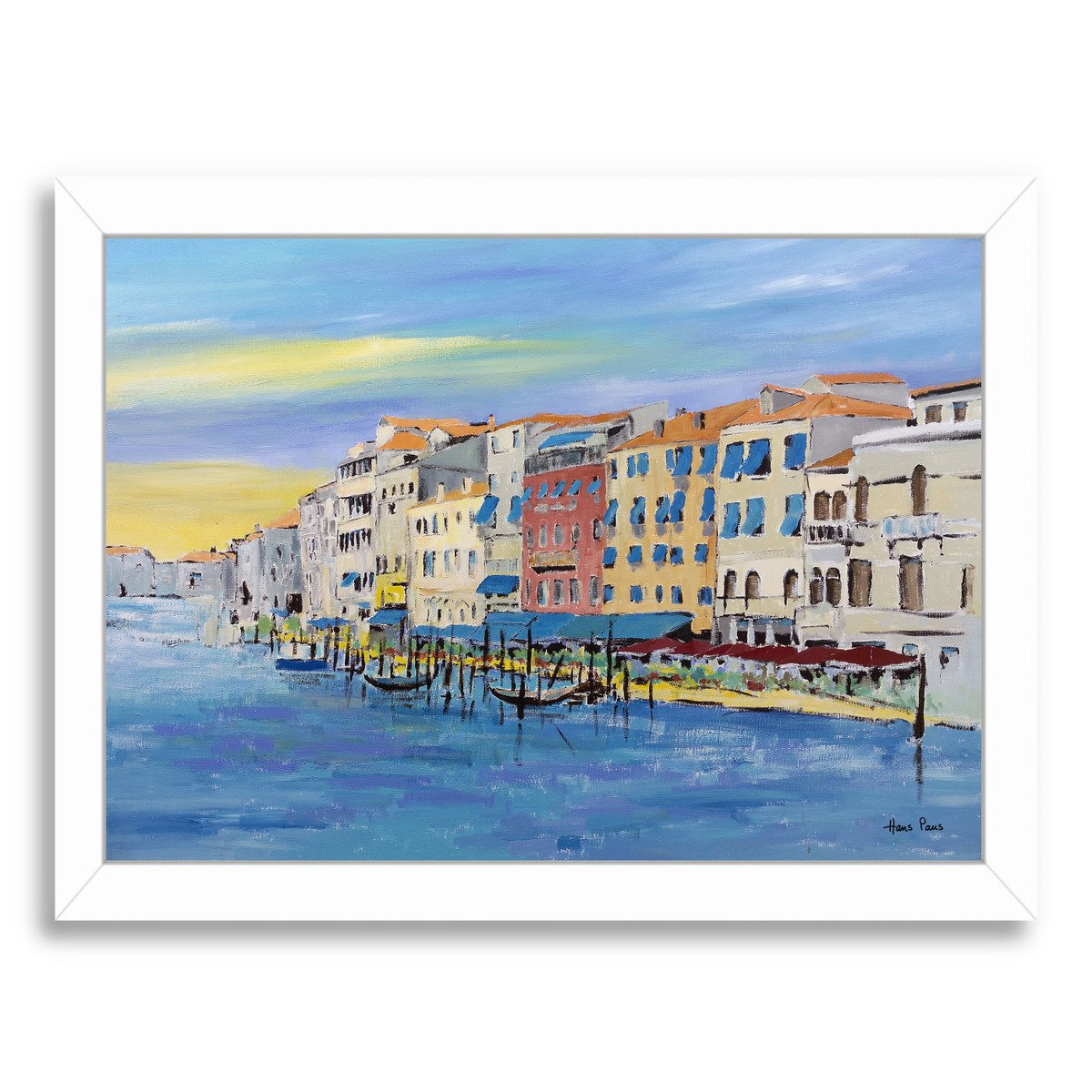 Venice By Hans Paus - Framed Print - Americanflat