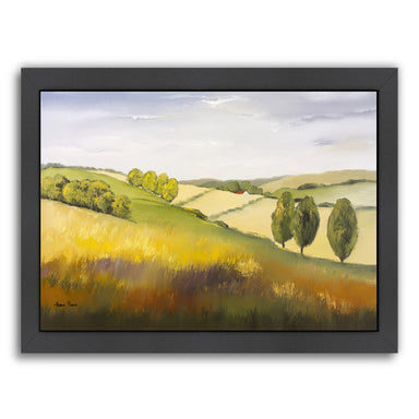 "Cotswolds 1 By Hans Paus - Black Framed Print, Wall Art, Hans Paus, 8"" x 10"""