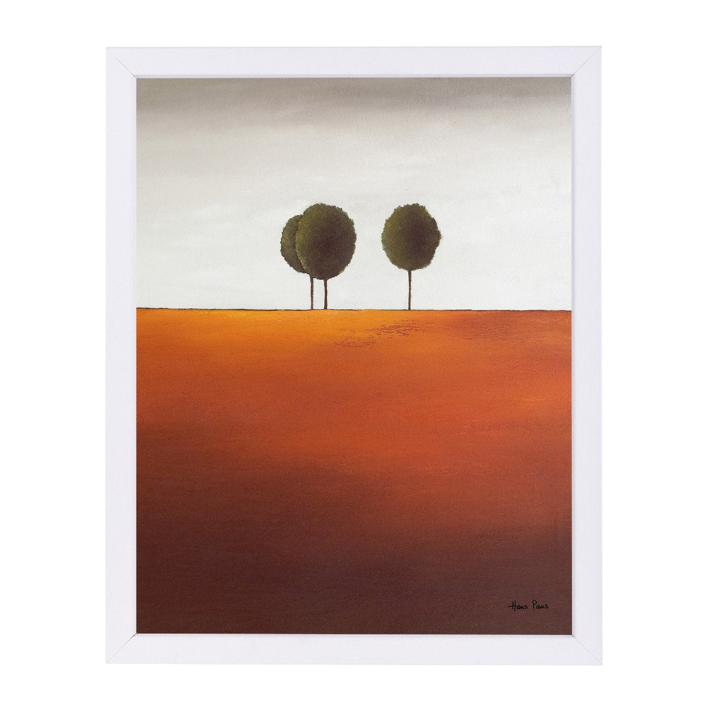 Trees 7 By Hans Paus - Framed Print - Americanflat